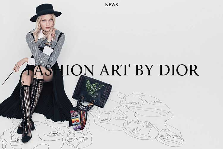 f Fashion art by Dior 26 02 18