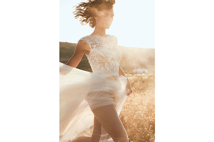 A boho chic bride by Lillian West 1