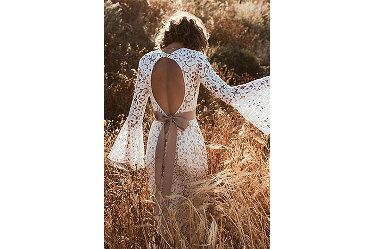 A boho chic bride by Lillian West 2