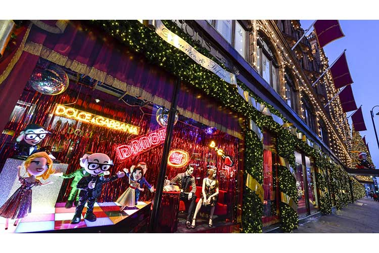 DolceGabbana and Harrods for XMas 12nov17 1