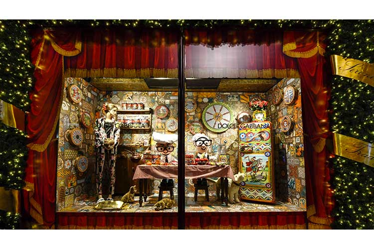 DolceGabbana and Harrods for XMas 12nov17 3