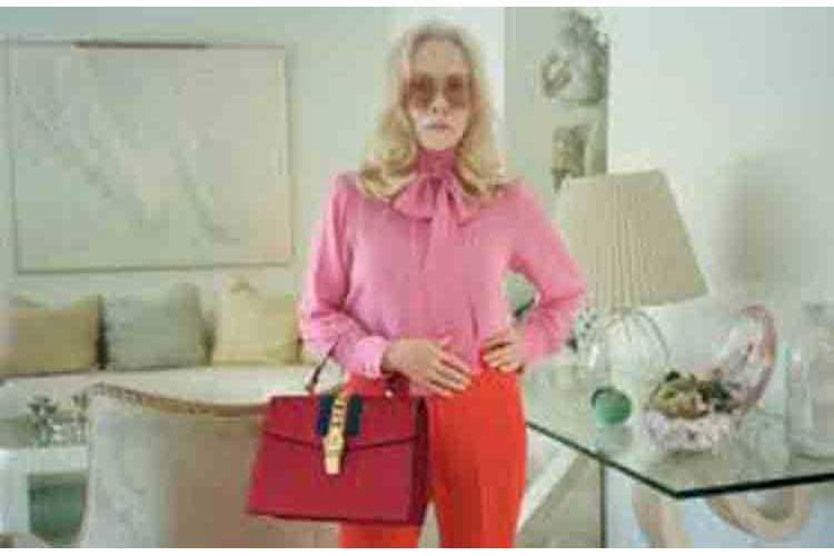 Faye Dunaway per Gucci Hollywood style21ag18 4