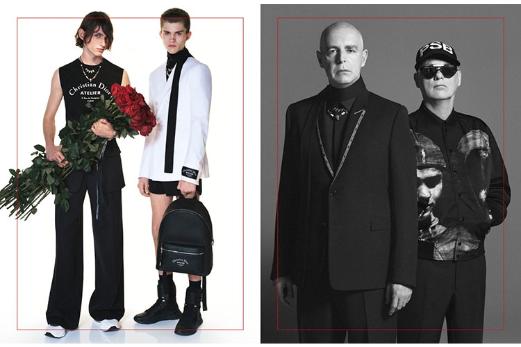 Pet Shop Boys and Dior Homme Summer 2018 Campaign 16gen17 1